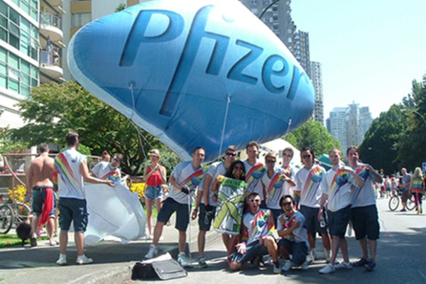 Pfizer team event