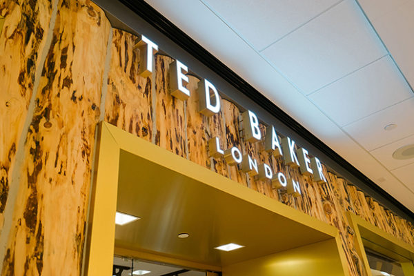 Ted Baker London Sign