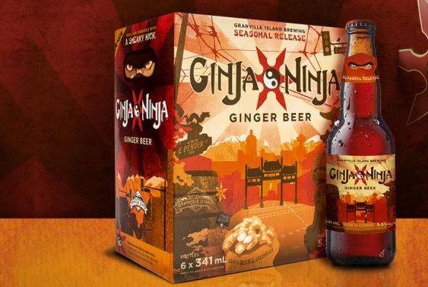 Ginja Ninja ginger beer