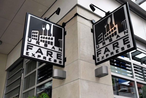 Urban Fare Express Sign outside store